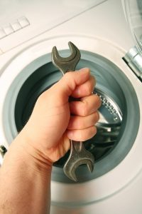 handle double wrench maintenance a Washing machine